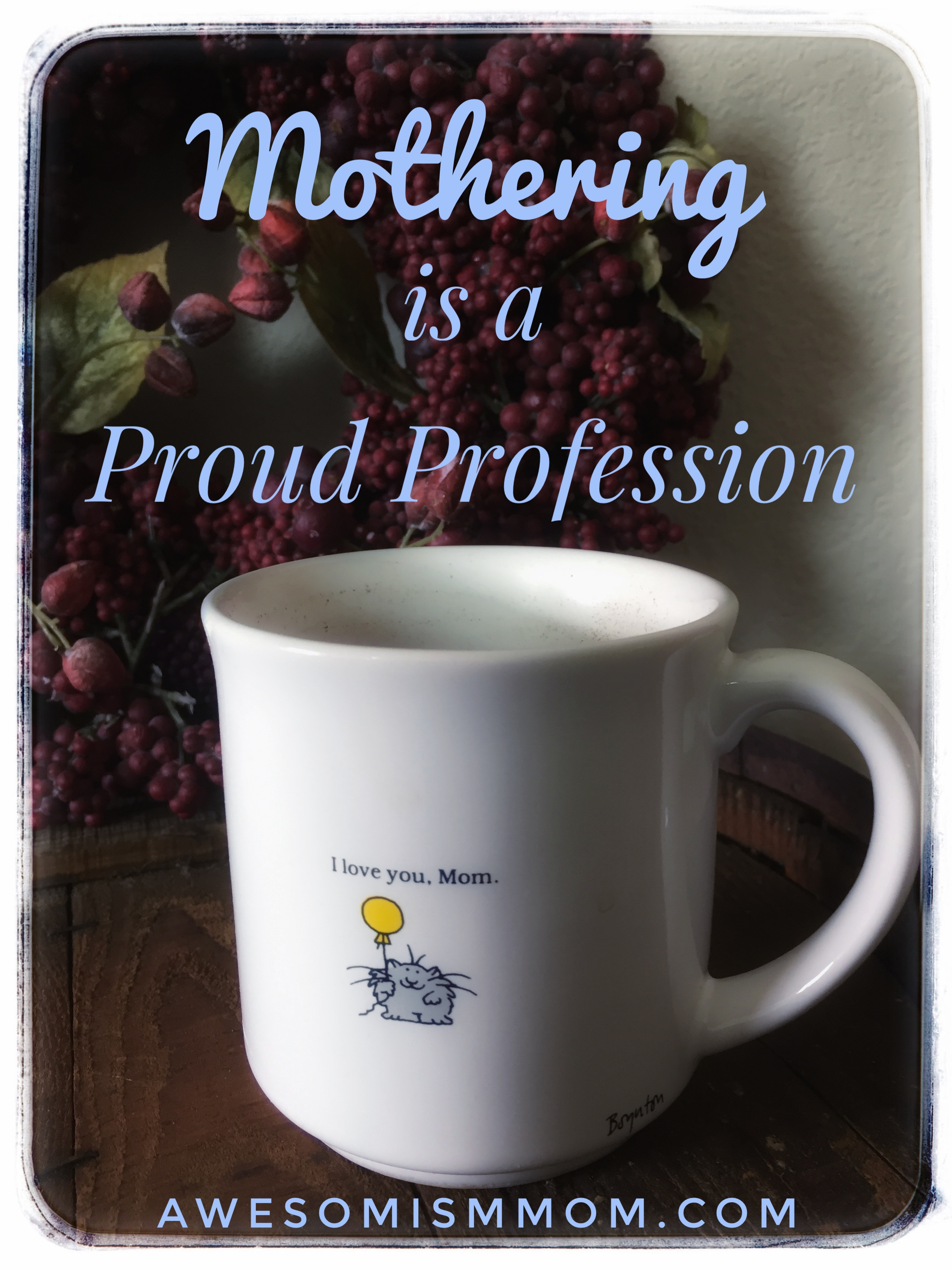 Sunday Throwback: A Proud Profession