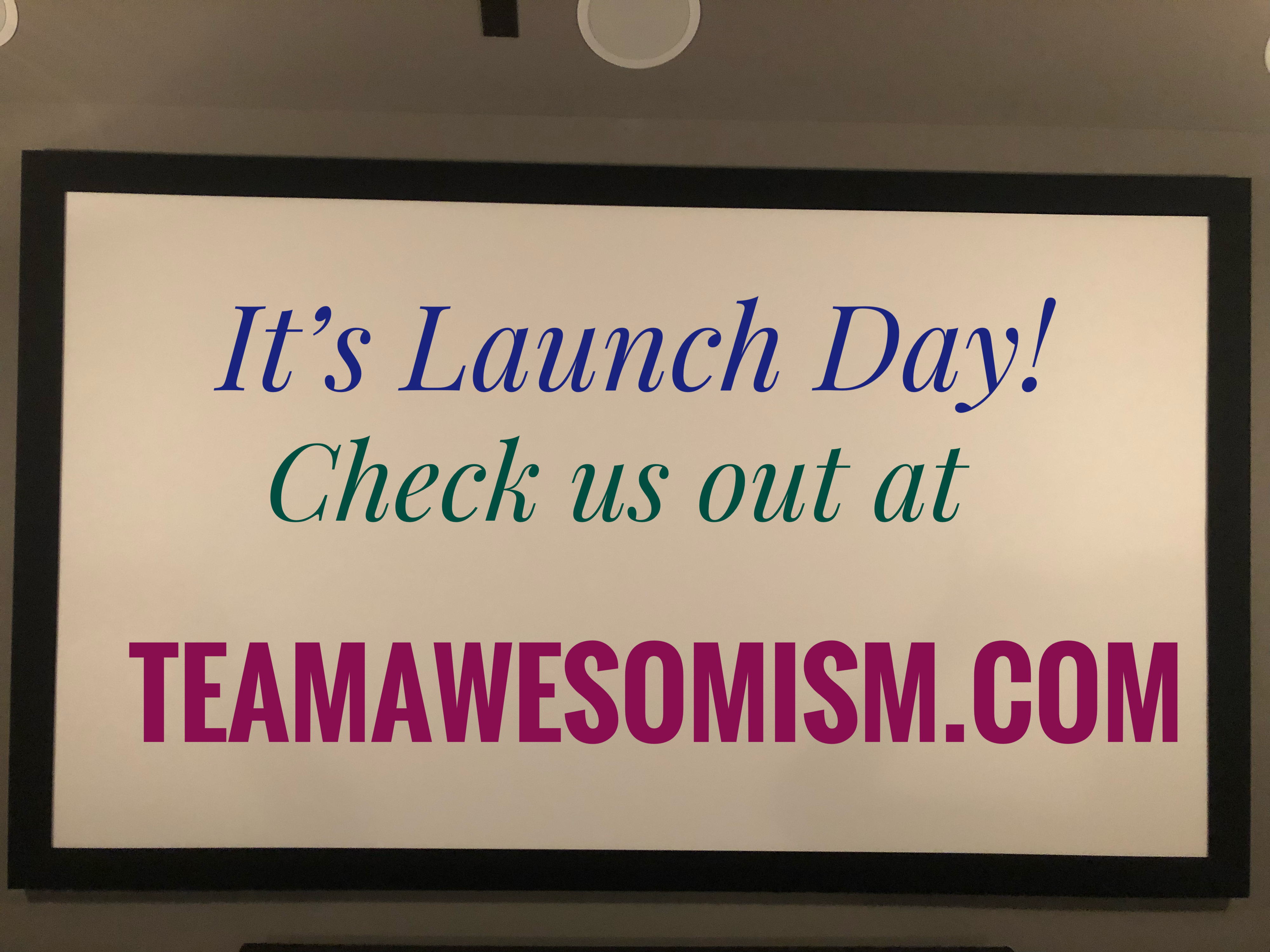 It's Launch Day!