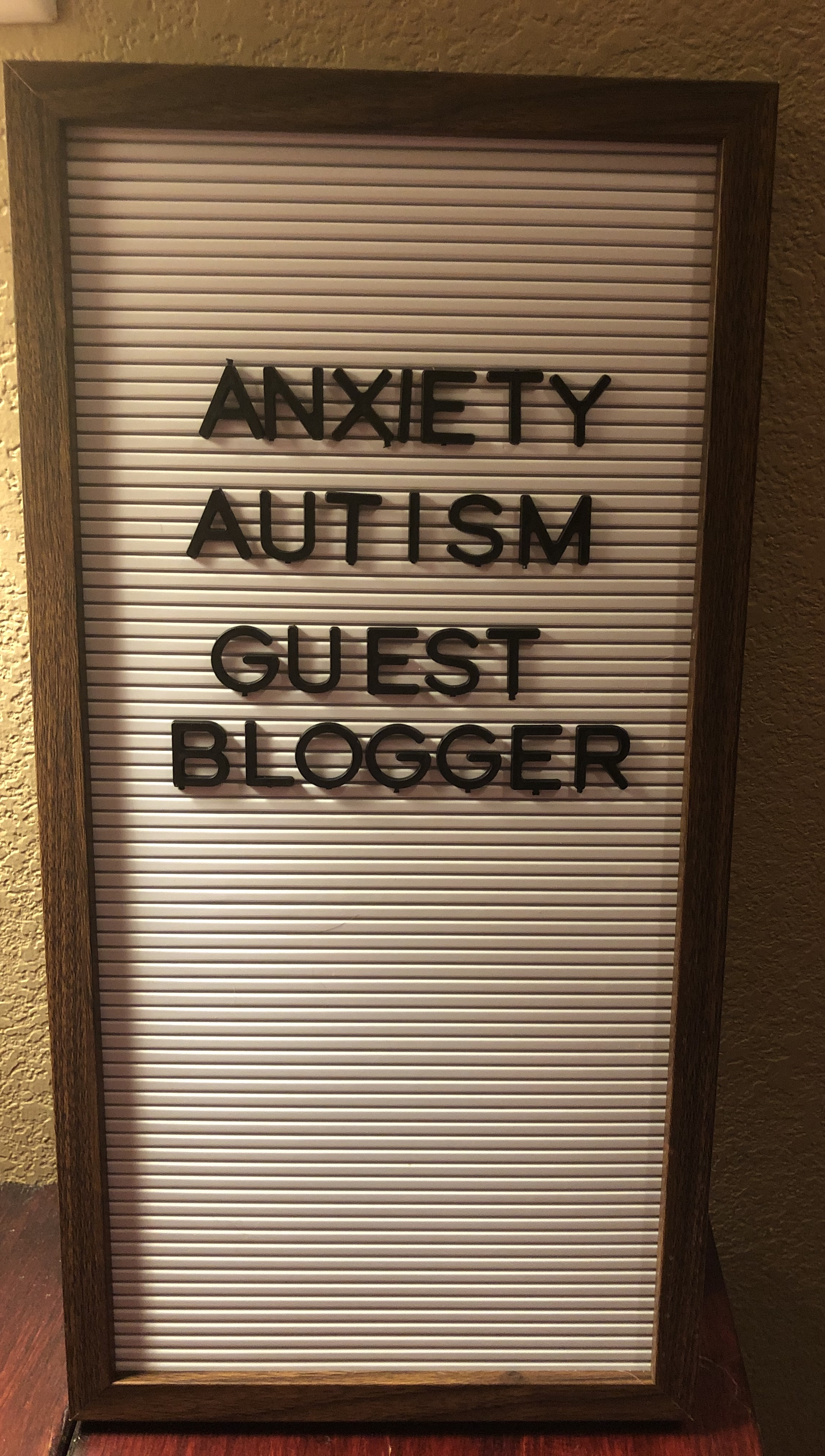 Anxiety in autism spectrum disorder